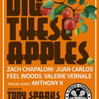 12/2. Dig These Apples Comedy Showcase