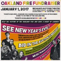 1/1. New Years Oakland Fire Fundraiser