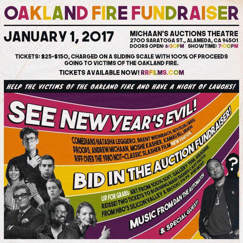Oakland Fire Fundraiser