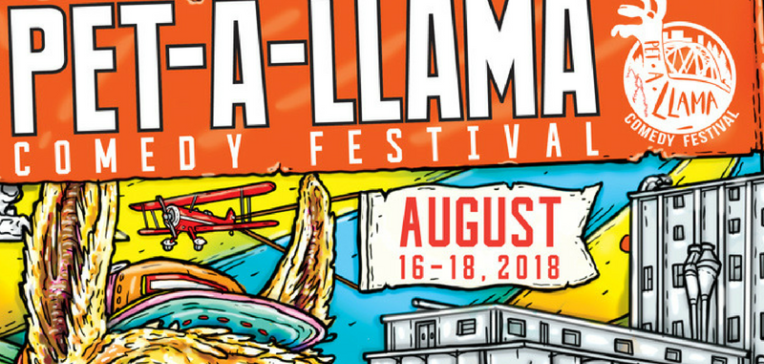 Petaluma's Pet-A-Llama Comedy Festival This Weekend!