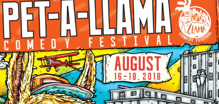 Petaluma's Pet-A-Llama Comedy Festival This Weekend!